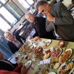 lunchen met Rob Hoogland
