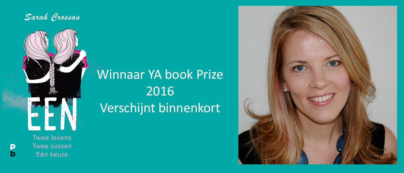 Een van Sarah Crossan wint YA Book price