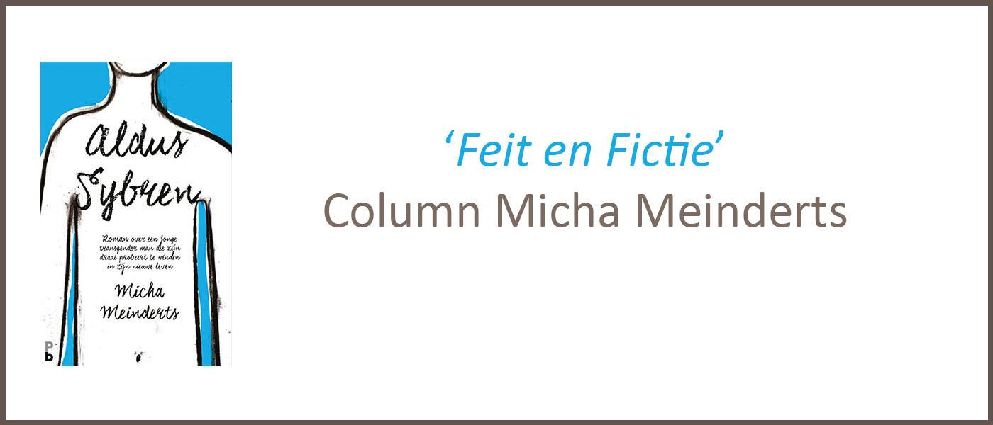 Micha Meinderts Aldus Sybren column Feit en fictie