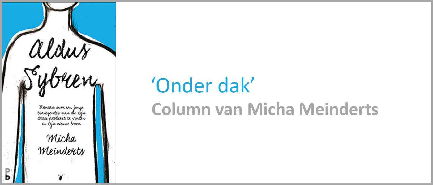 Column van Micha Meinderts schrijver van Aldus Sybren