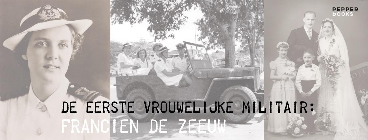 Francien de Zeeuw, telegraaf, Tweede Wereldoorlog, Verzet, verzetsheldin, oorlog, militair, vrouwelijke militair, defensie
