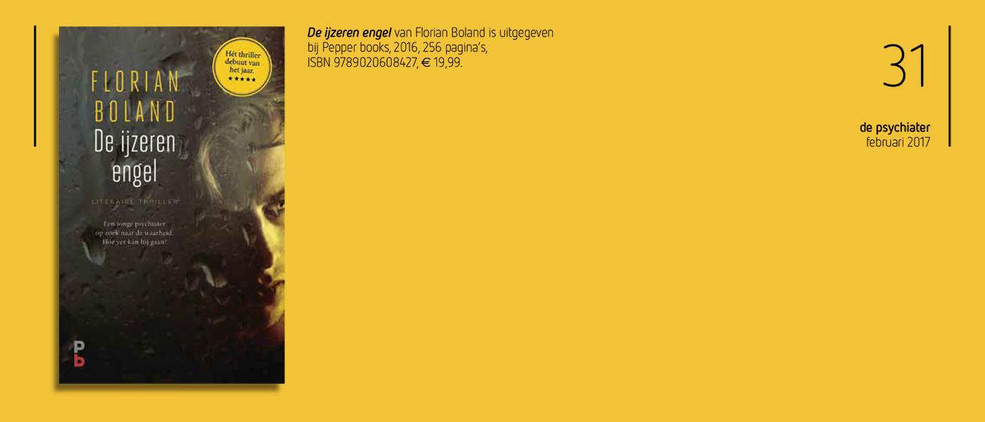 Recensie Florian Boland in de Psyciater