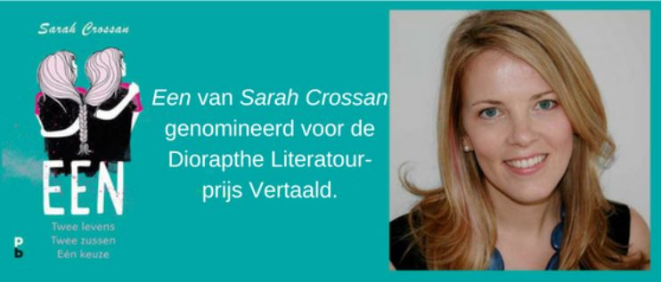 Een van Sarah Crossan genomineerd voor de Diorapthe Literatour-prijs Vertaald.