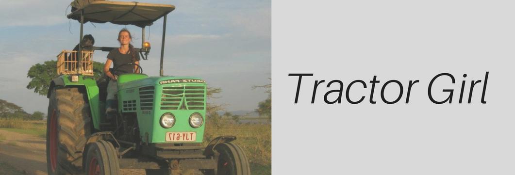 Tractor Girl persbericht